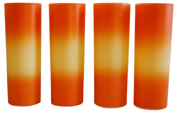 Orange & Yellow Highballs, S/4