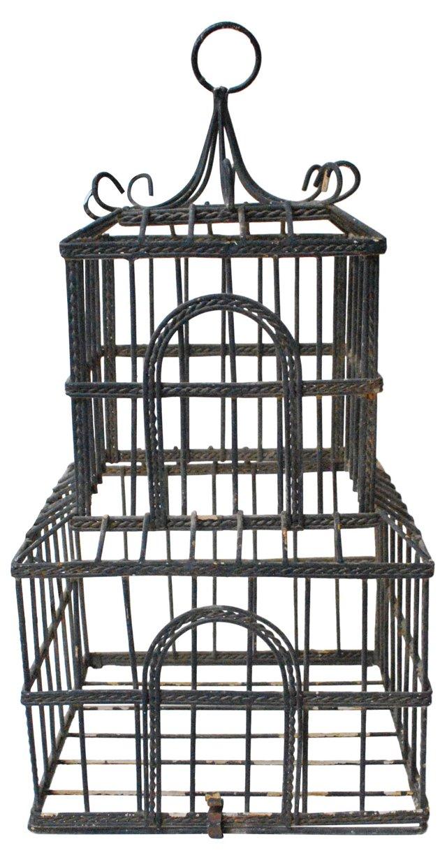 Pagoda-Shaped Bird Cage