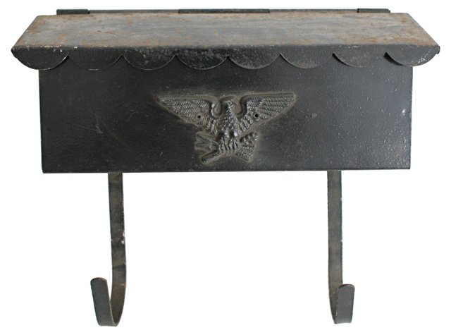 1950s Eagle Mailbox