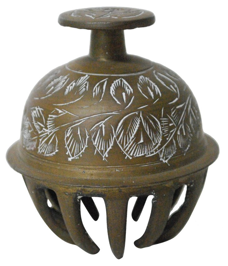Etched  Brass  Bell