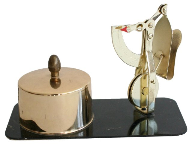 Stamp Holder & Letter Scale, Pair