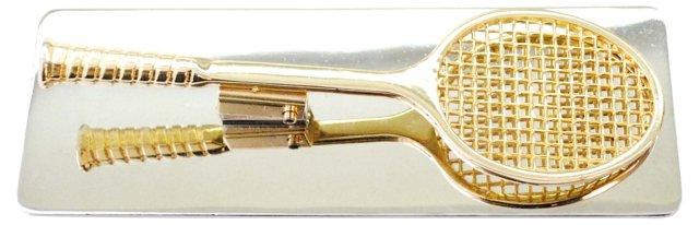 Brass Tennis Clip