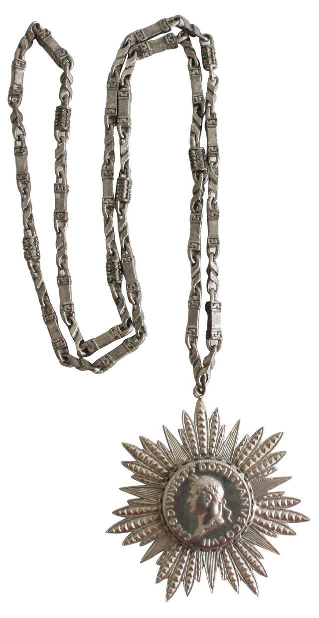 Roman Pendant Necklace