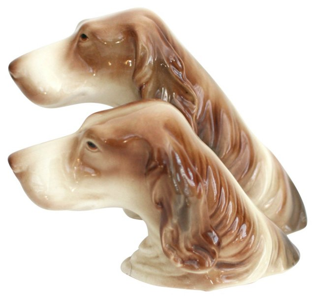 1940s Goldscheider Dog Bust
