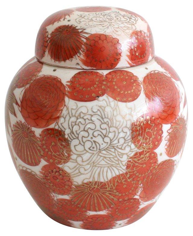 Kutani Porcelain Jar