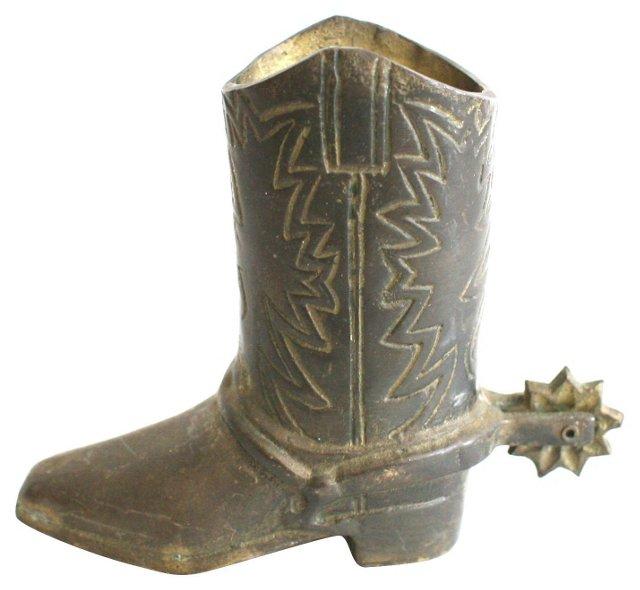 Brass Boot Match Holder