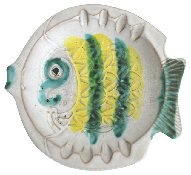 Midcentury   Fish Ashtray