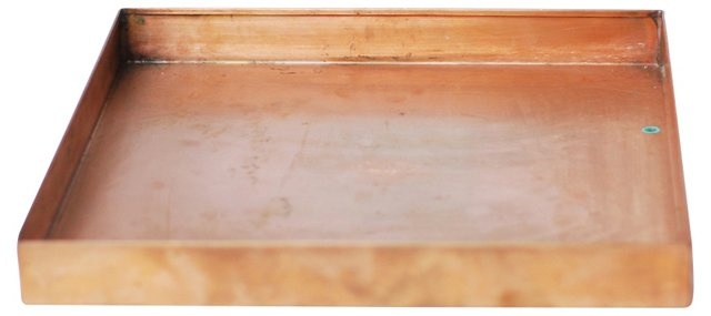 Oversize Copper    Tray