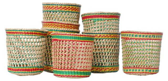 Woven Cups, S/8