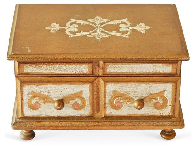 Florentine Music Jewelry Box