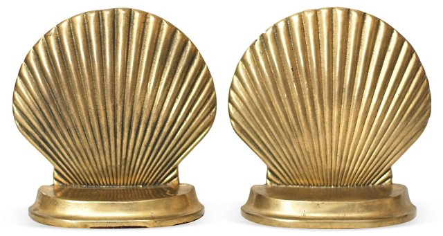 Half-Shell Bookends