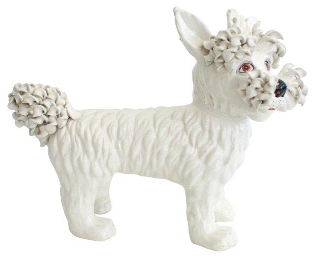 1950s Italian Scottie Dog