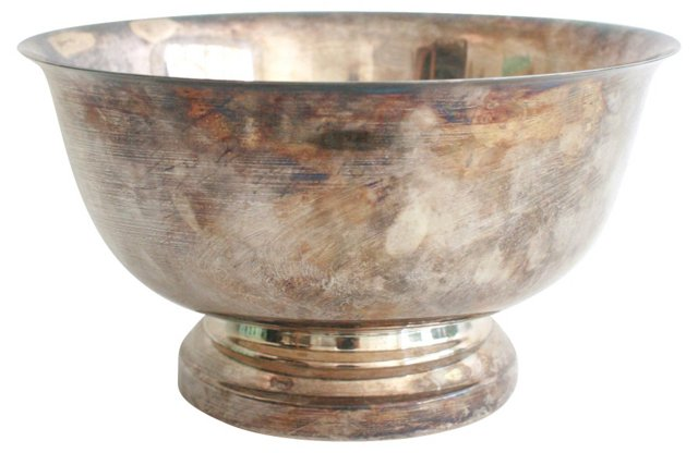 Revere Silverplate Punch Bowl