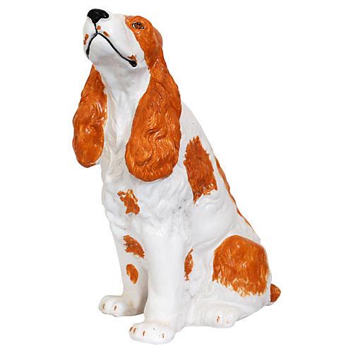 Oversize Italian Spaniel Figure