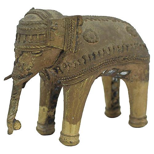 Dhokra Brass Elephant