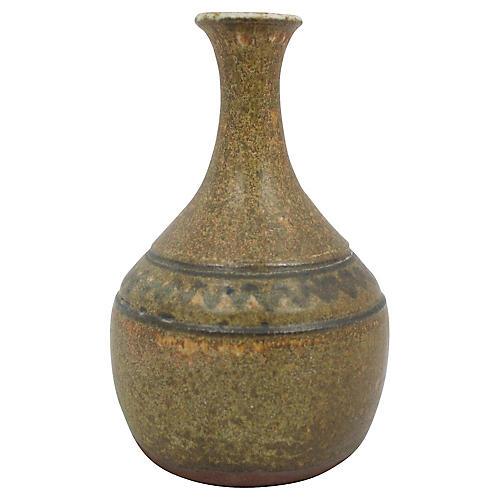Midcentury Studio Pottery Vase