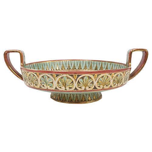 Italian Sgraffito Deruta Pottery Bowl