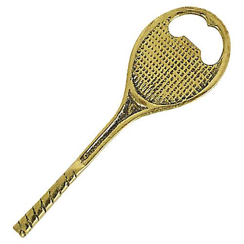 Tennis Racket Bottle Opener