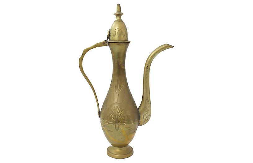 Moroccan Brass Teapot