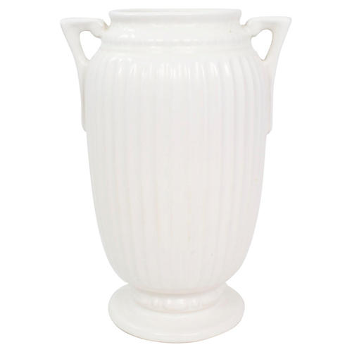 1930s Neoclassical Roseville Vase