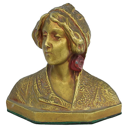 1920s Female Bust
