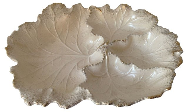 Sectioned Leaf Bowl