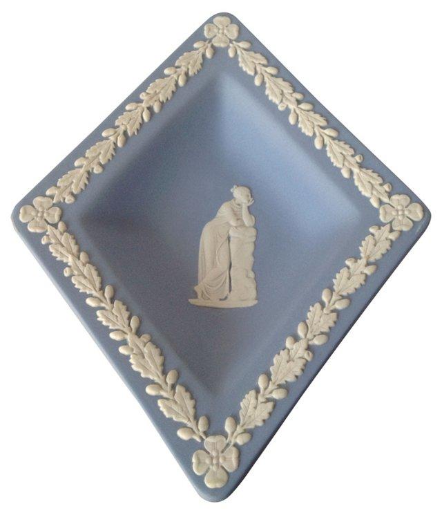 Diamond-Shaped Wedgwood Catchall