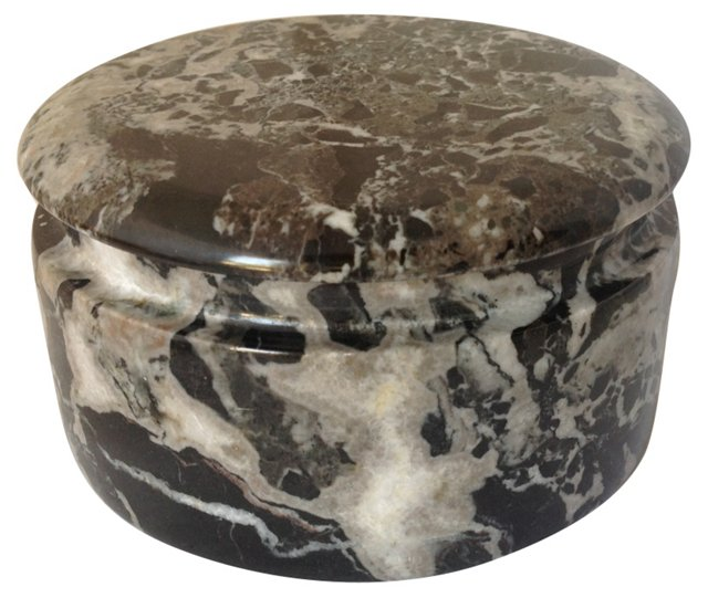 Black & White Marble Box
