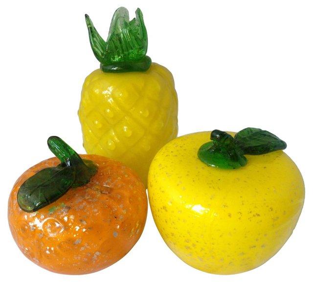Glass Fruit, S/3