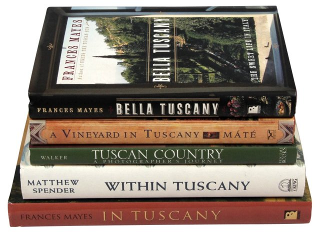 In Tuscany, Set of 5
