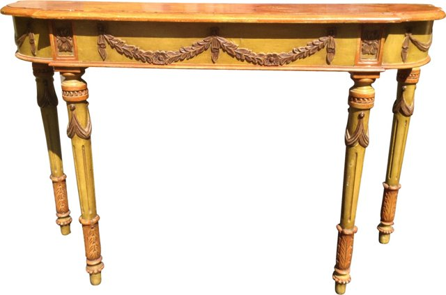 Painted Venetian Console