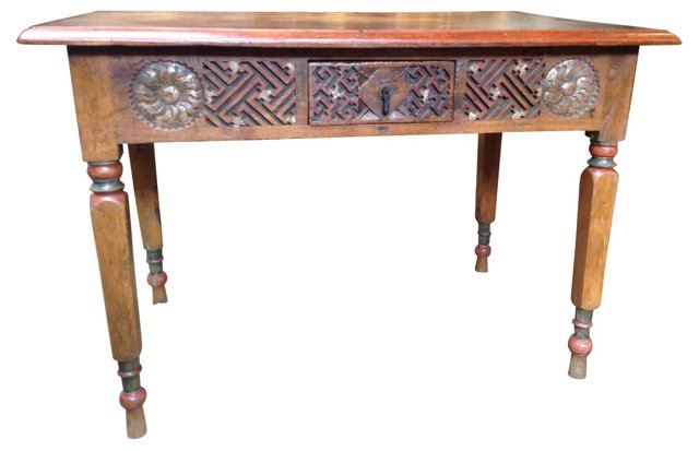 Anglo Indian-Style  Desk