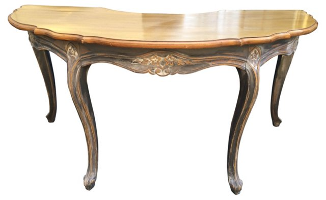 French-Style Demilune   Desk
