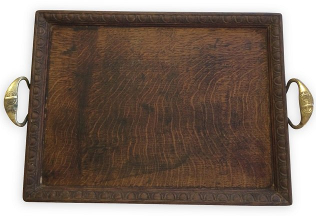English Oak Pub Tray