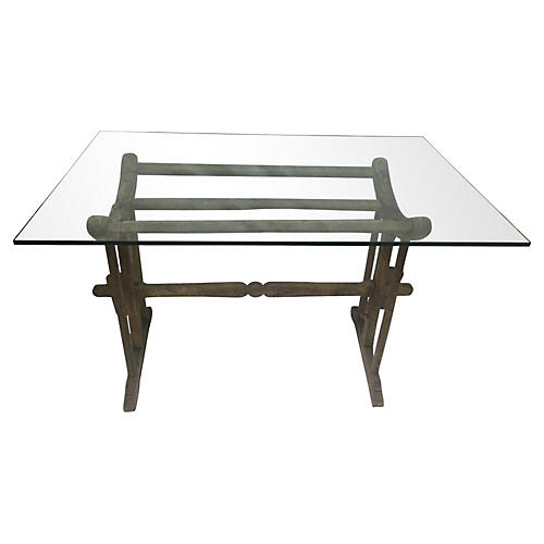 19th-C. French Wine Table