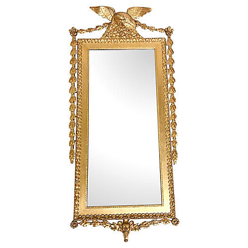 Large Giltwood Federal Style Mirror