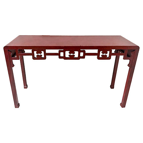 Asian Modern Console Table