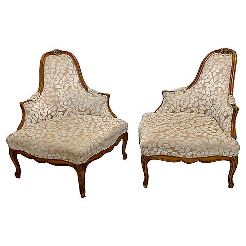 French Provincial Style Corner Chairs,2