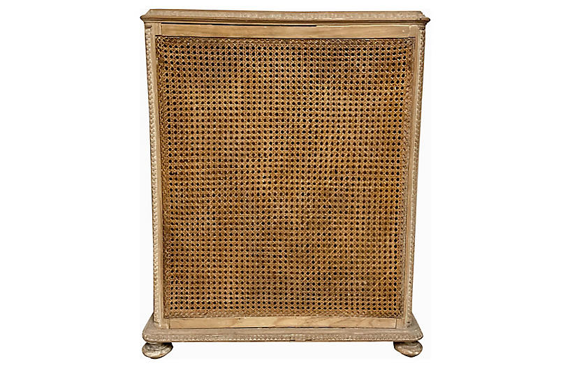 English Caned Umbrella Stand