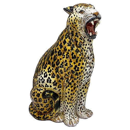 Hollywood Regency Italian Leopard