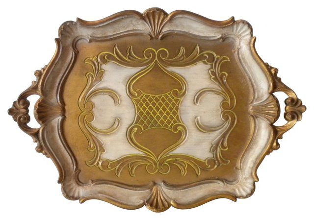 Florentine-Style    Tray