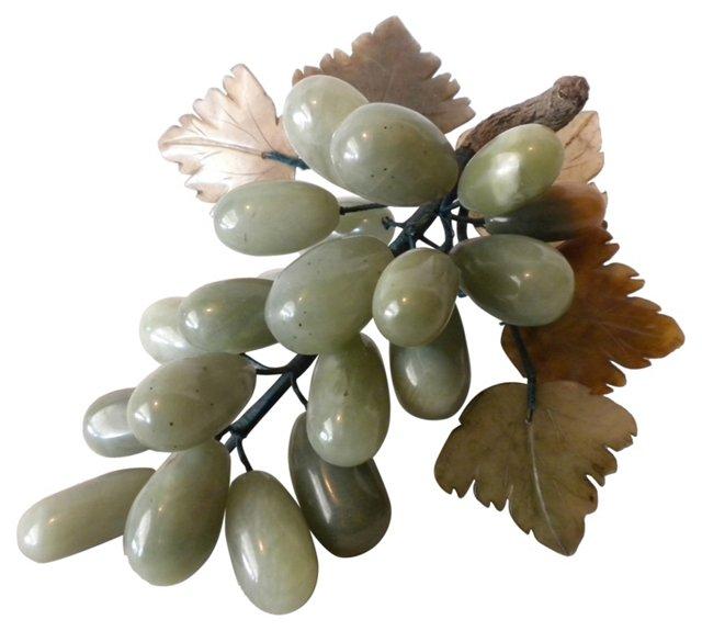 Polished  Jade  Grape  Cluster