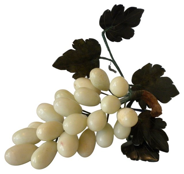 Polished Jade Stone Grapes