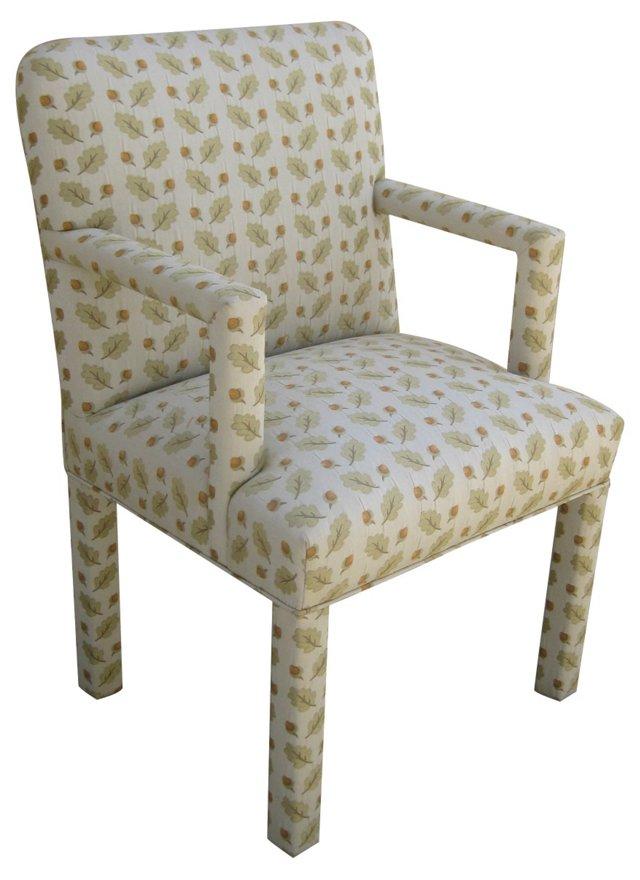 1970s Acorn-Print Chair