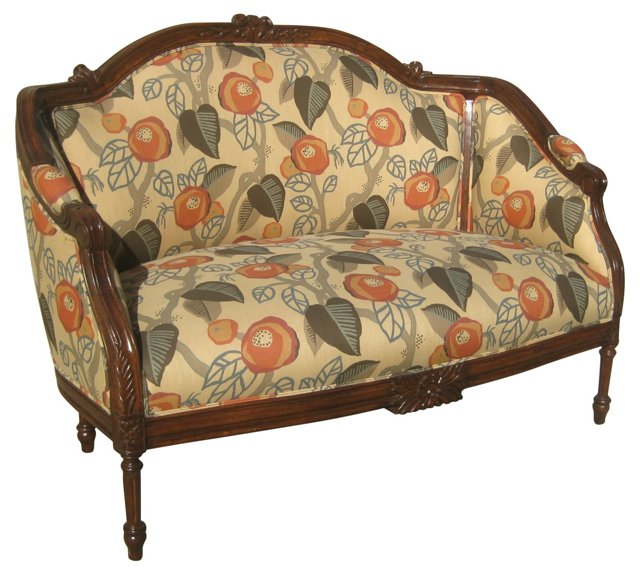 Custom Loveseat by Gina Berschneider