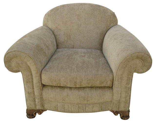 1980s Abel Chair w/ Chenille