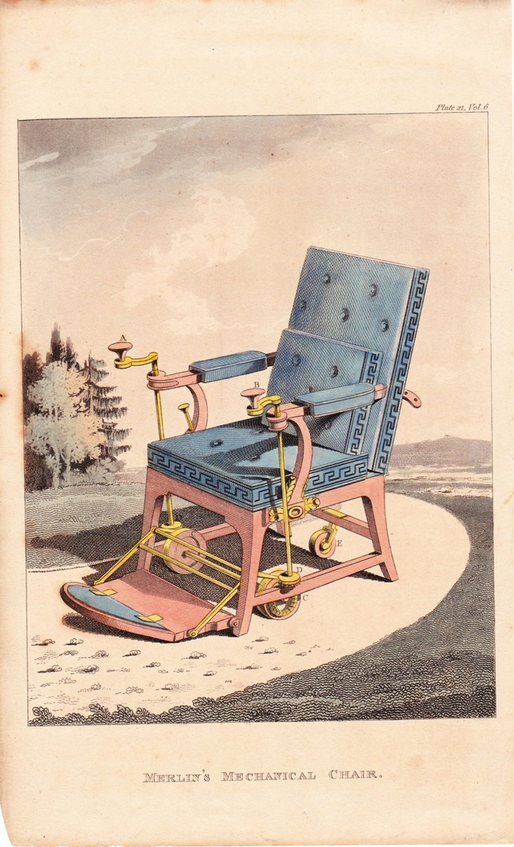 Ackermann's Repository Chair, 1810