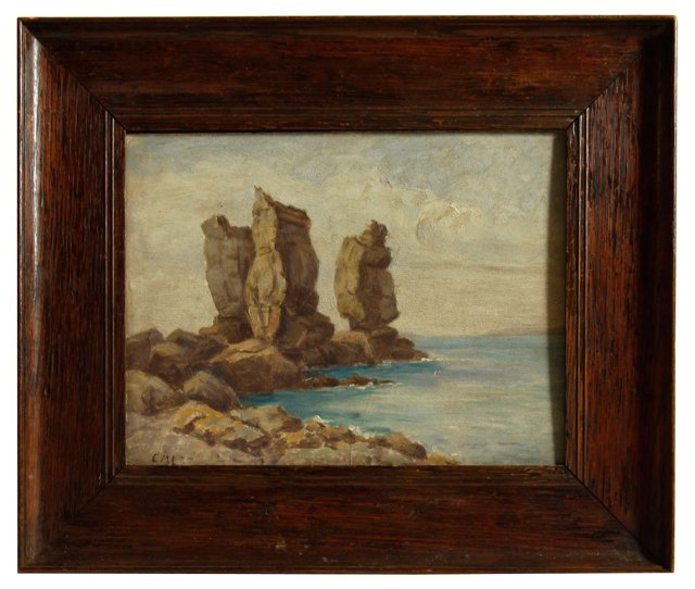 English Seascape, C. 1900