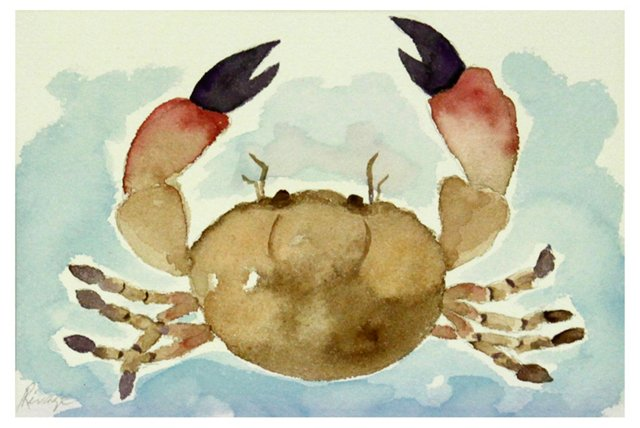 Stone Crab Red
