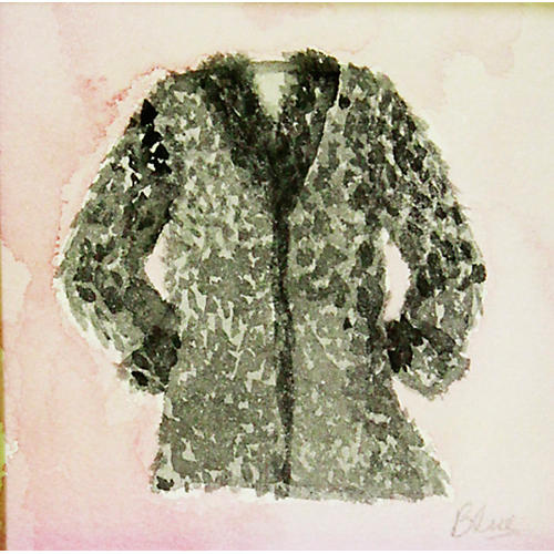Gray Coat w/ Pink